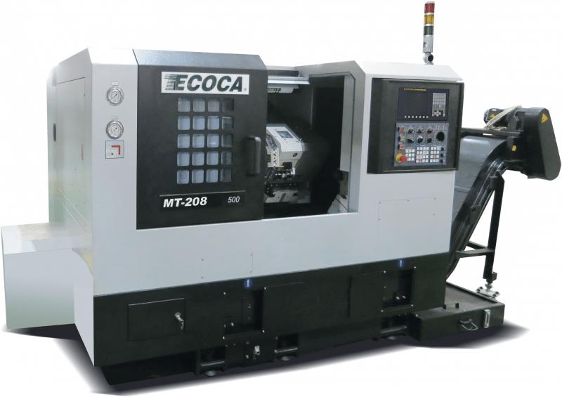Ecoca MT208MC/500 Fanuc 0i-TD CNC esztergagép